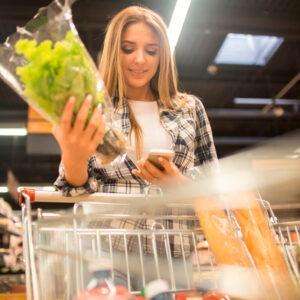 smartphones to promote healthy eating